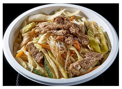 noodles manzo e verdure