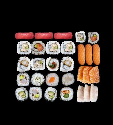 mini party sushi sashimi