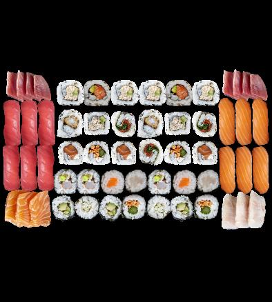 party sushi sashimi